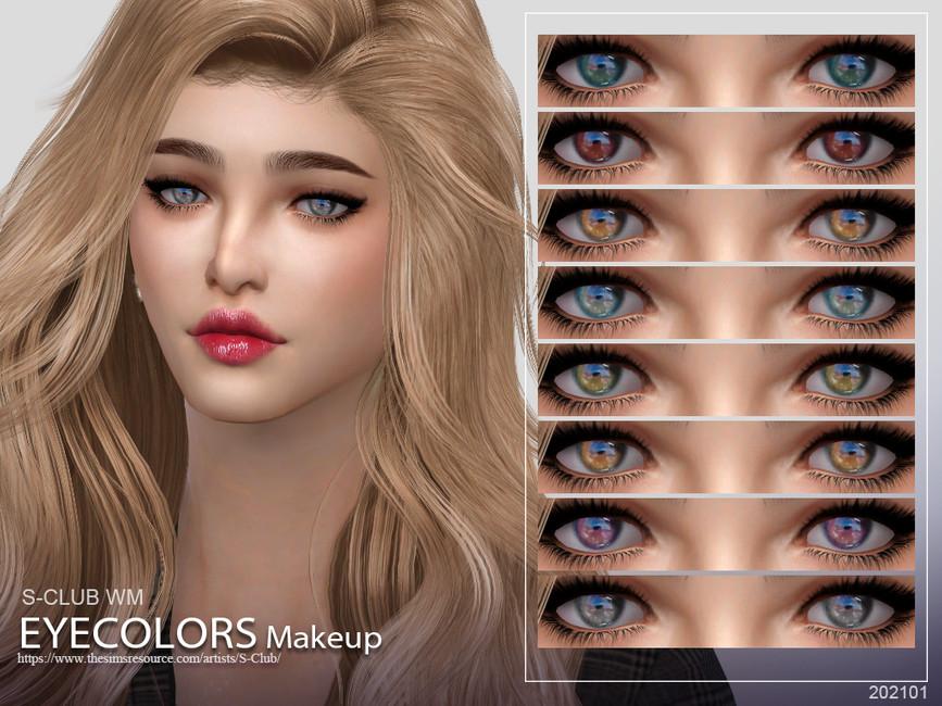 Скачать цвета глаз для Симс 4