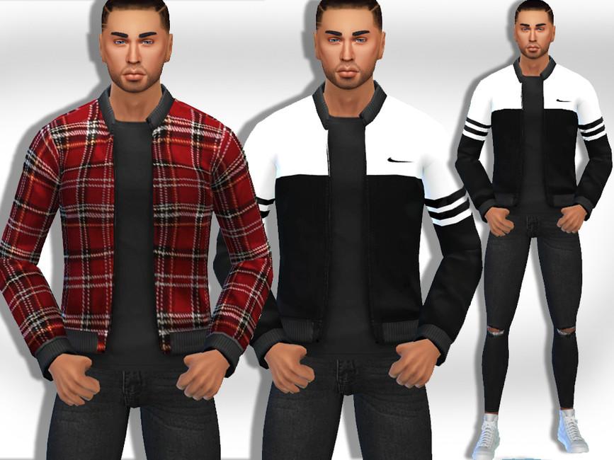 Скачать моды куртки Симс 4
