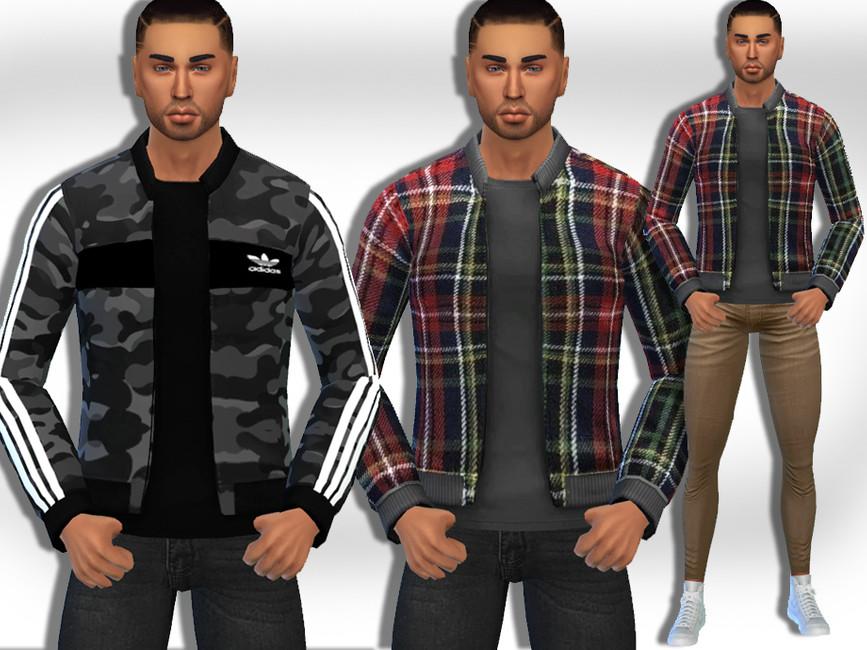 Скачать моды куртки Симс 4 (картинка 2)