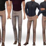 Скачать штаны для мужчин Симс 4