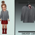 Свитер для детей Sweater C305 Симс 4