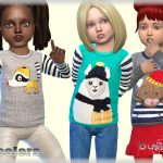 Свитер для детей Sweater Toddler Симс 4