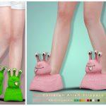 Тапочки для детей Симс 4