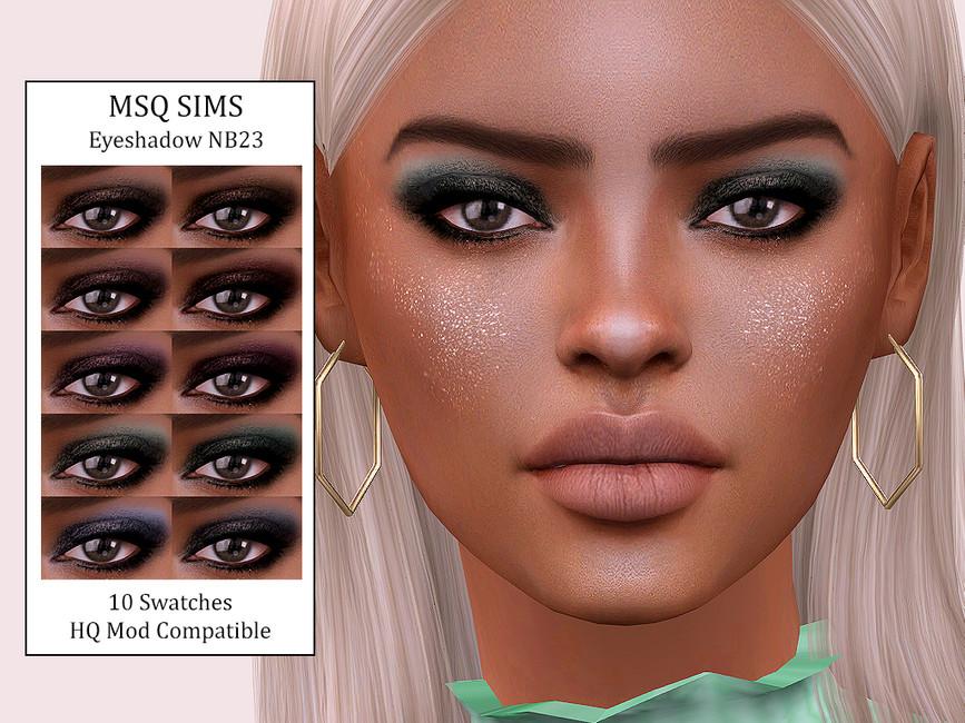Тени для век Eyeshadow NB23 Симс 4