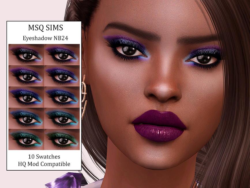 Тени для век Eyeshadow NB24 Симс 4