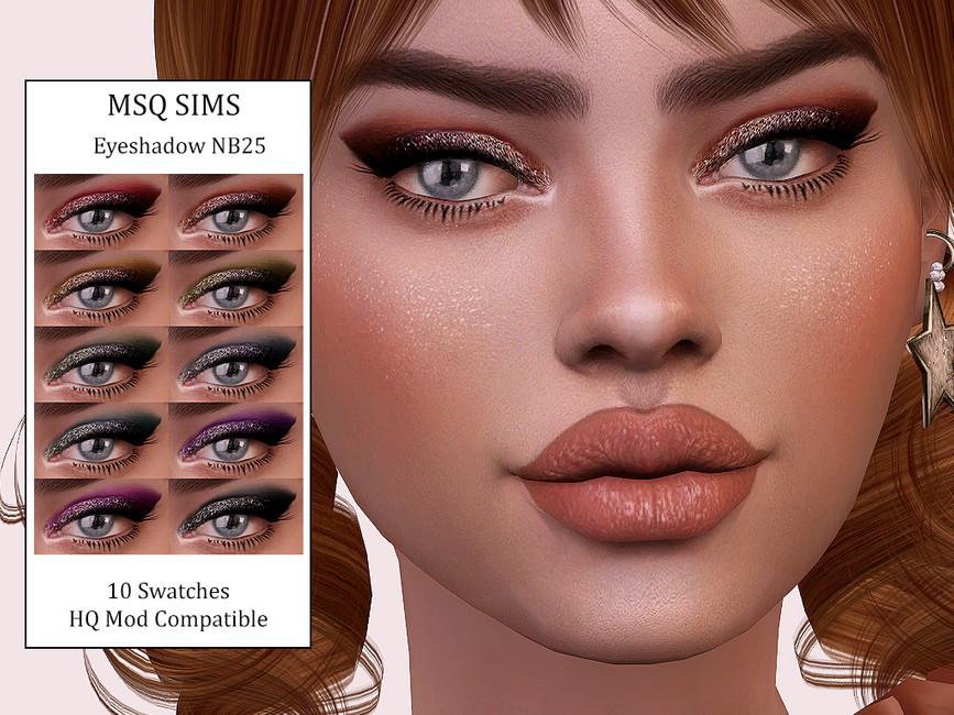 Тени для век Eyeshadow NB25 Симс 4