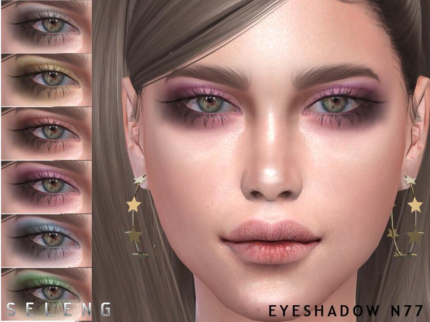 Тени Eyeshadow N77 для Симс 4