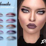 Тени IMF Jamila Eyeshadow N181 для Симс 4