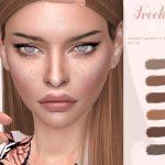Веснушки IMF Freckles N14 Симс 4