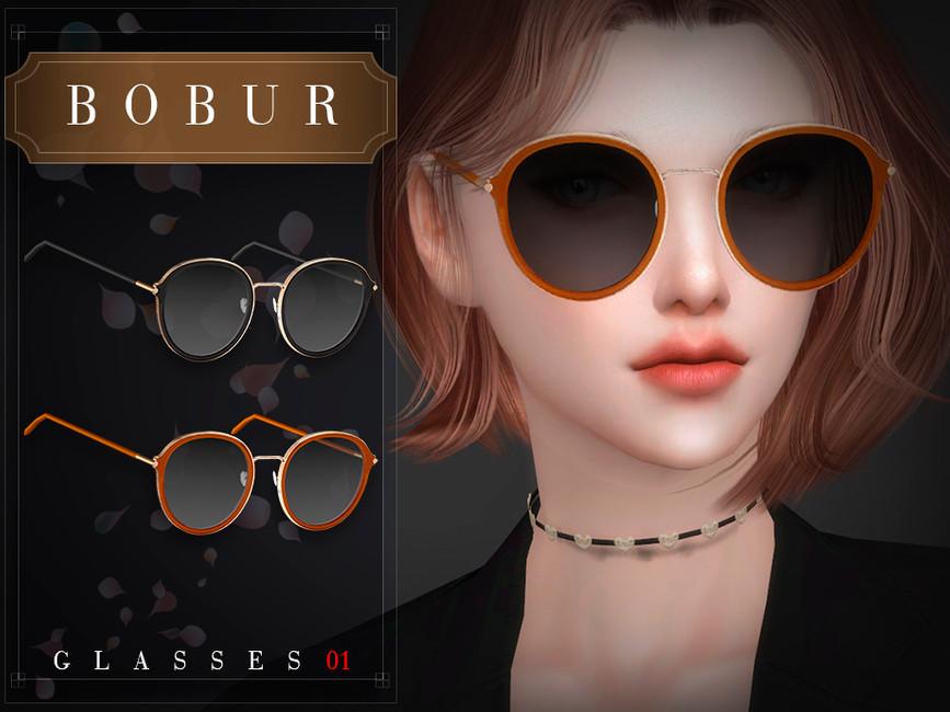 Женские очки Симс 4 (картинка 3)