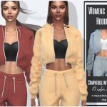 Женский костюм Womens Suit Hoodie Симс 4