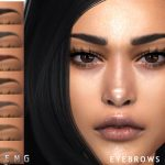 Брови Eyebrows N109 Симс 4