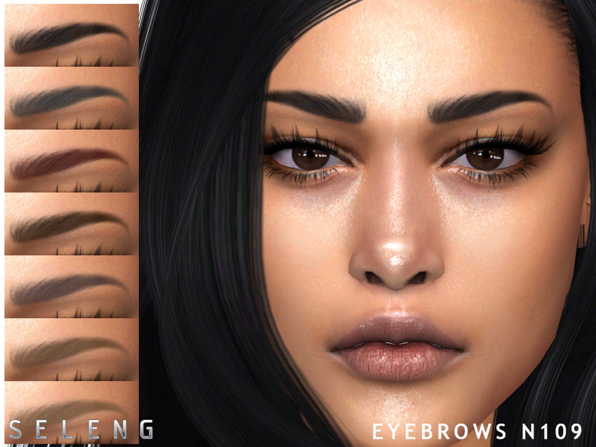Брови Eyebrows N109 Симс 4