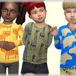 Детская одежда для Симс 4