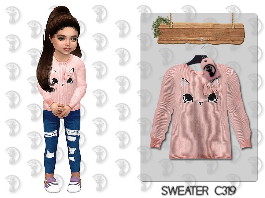 Детский свитер Симс 4