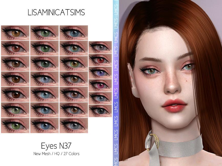 Глаза LMCS Eyes N37 Симс 4