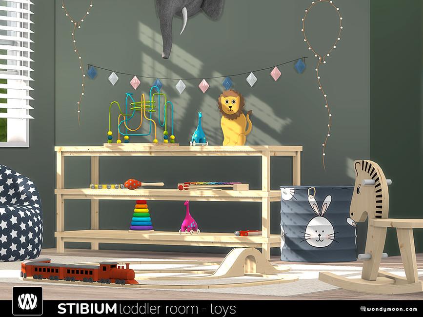 Игрушки для детской Симс 4