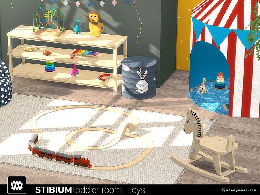 Игрушки для детской Симс 4 (картинка 2)