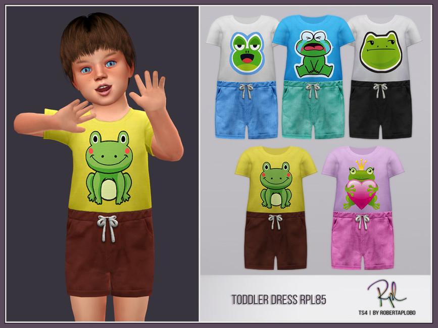 Костюм для детей Toddler Boy Collection RPL85 Симс 4