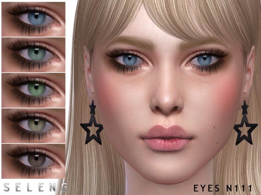 Красивые глаза Eyes N111 Симс 4