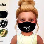 Маски на лицо для детей Симс 4