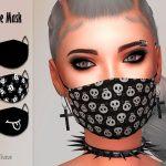 Мод на маски для лица Симс 4
