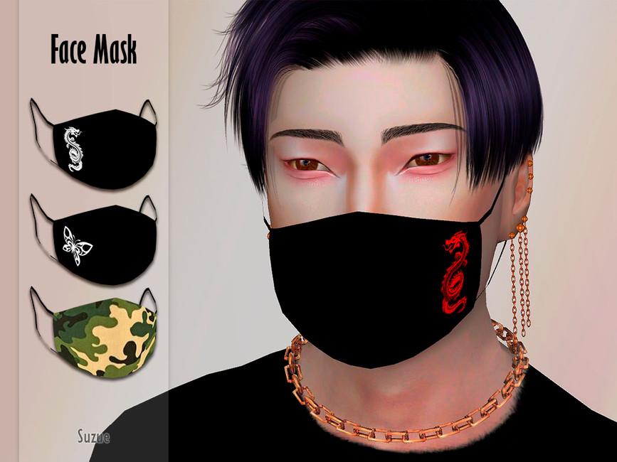 Мод на маски для лица Симс 4 (картинка 2)