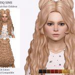 Моды прически для детей Симс 4