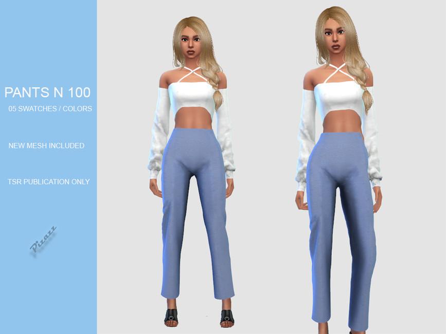 Мод женские штаны Симс 4
