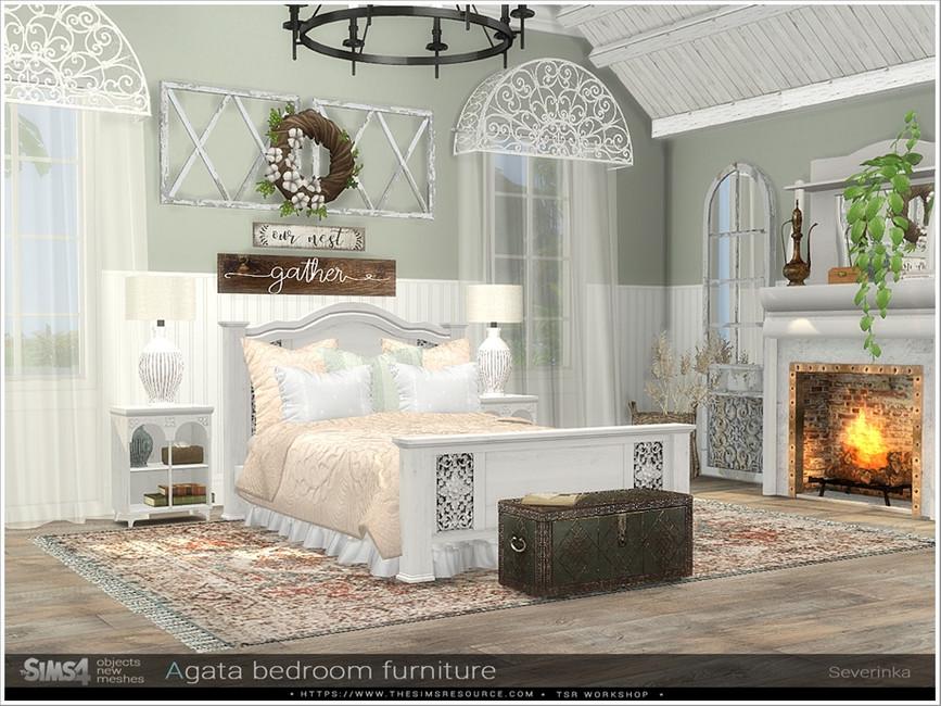 Набор мебели для спальни Симс 4 (картинка 2)