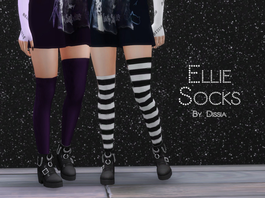 Носки Ellie Socks Симс 4
