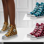 Обувь 628 - Sneakers Симс 4