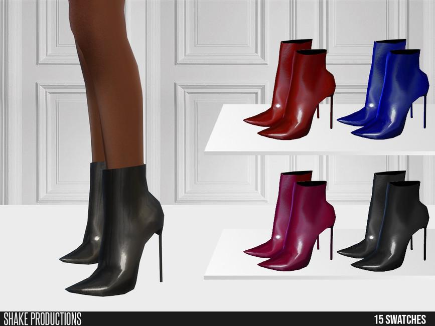 Обувь 631 - Boots Симс 4