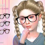 Очки для детей Симс 4