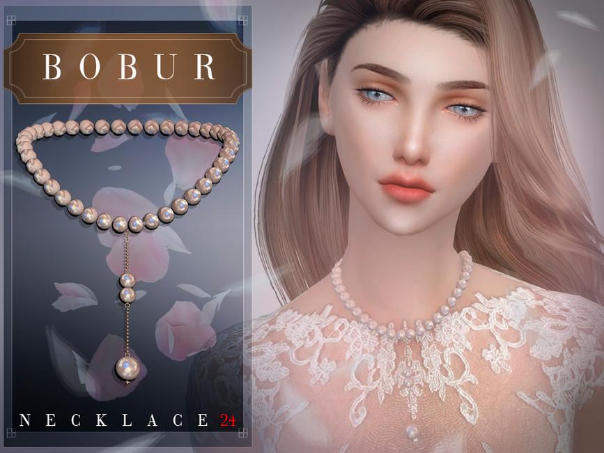 Ожерелье Bobur Necklace 24 Симс 4