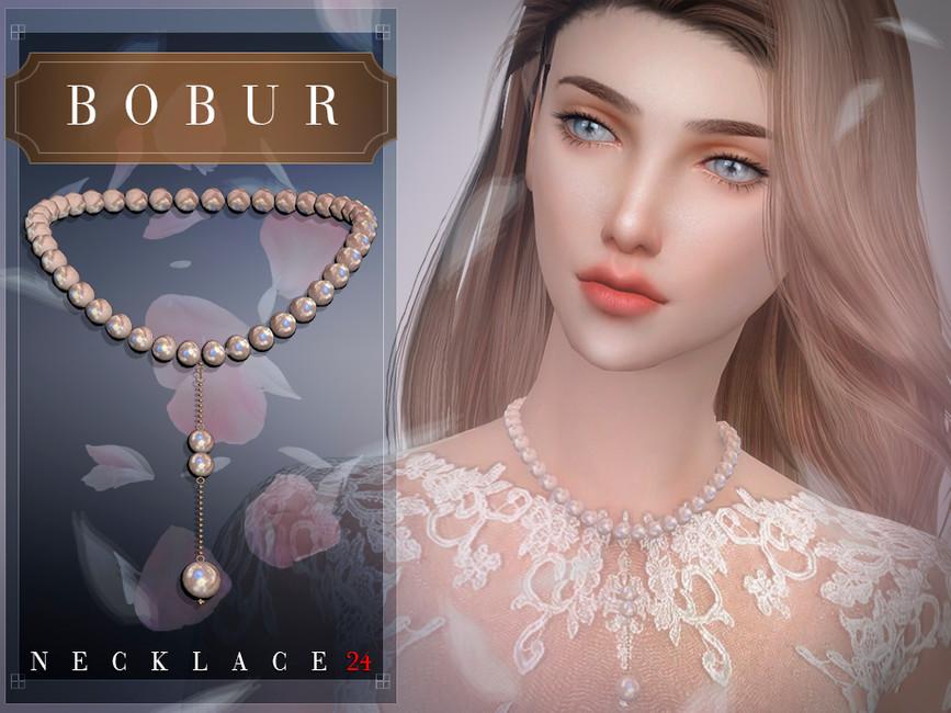 Ожерелье Bobur Necklace 24 Симс 4 (картинка 2)