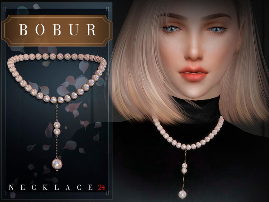 Ожерелье Bobur Necklace 24 Симс 4 (картинка 3)
