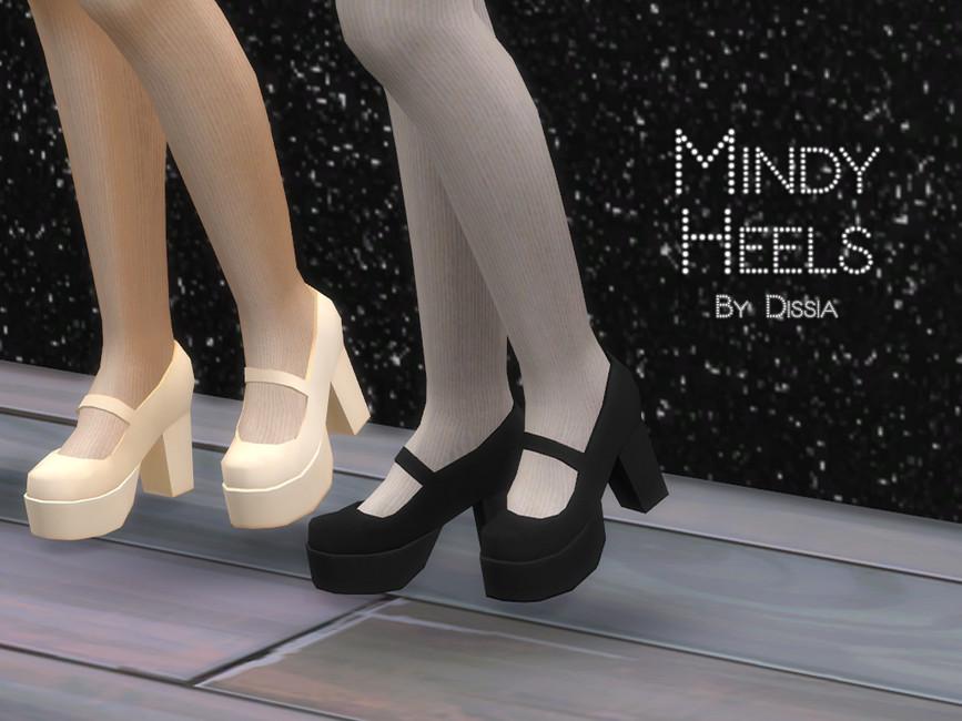Пак обуви для Симс 4