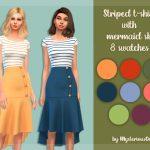 Пак женской одежды Симс 4