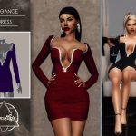 Платье Elegance (Dress) Симс 4