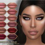 Помада для губ FRS Lipstick N240 Симс 4