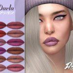 Помада для губ IMF Darla Lipstick N321 Симс 4