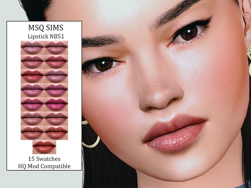 Помада Lipstick NB51 Симс 4