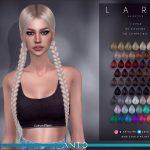 Прическа Lara (Hairstyle) Симс 4