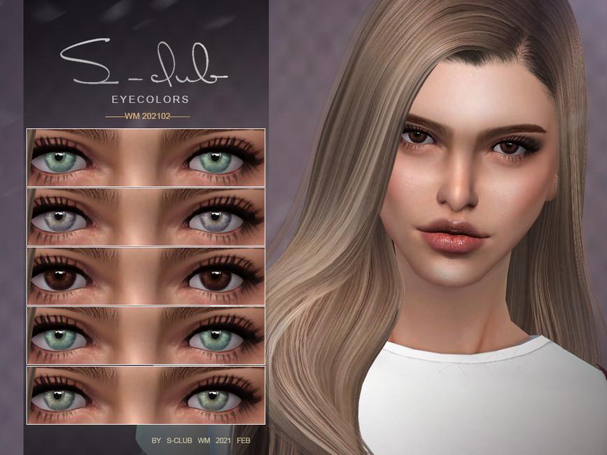 Скачать цвет глаз для Симс 4