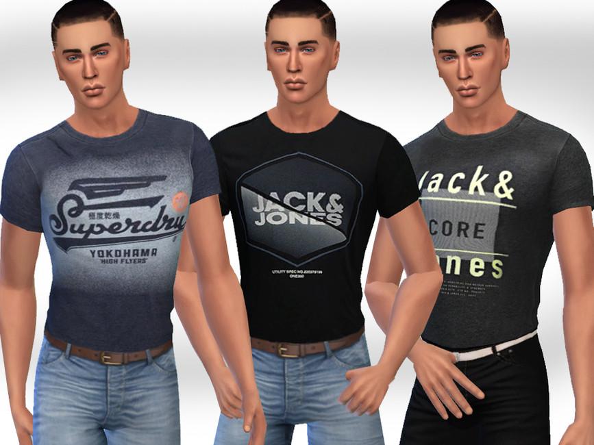 Скачать футболки для Симс 4