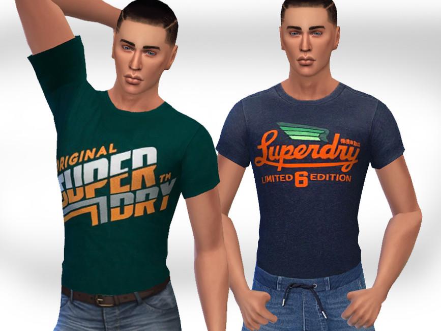 Скачать футболки для Симс 4 (картинка 2)