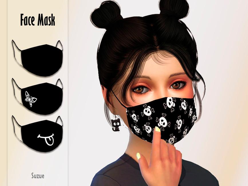Скачать маску на лицо Симс 4