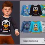 Свитер для детей Toddler Sweater RPL80 Симс 4