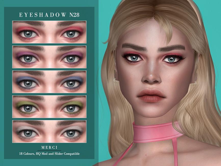Тени Eyeshadow N28 Симс 4